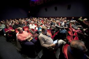 Engaged Film Festival audience at Michigan Theater